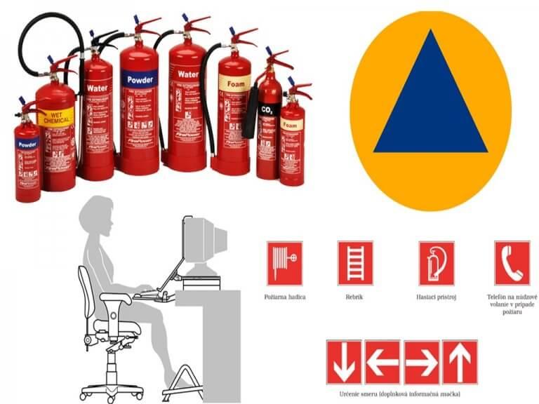hasiaci pristroj; civilná ochrana; správen sedenie;