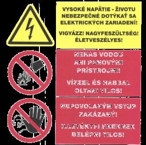 vzor zákazov príkazov a pod. bozp